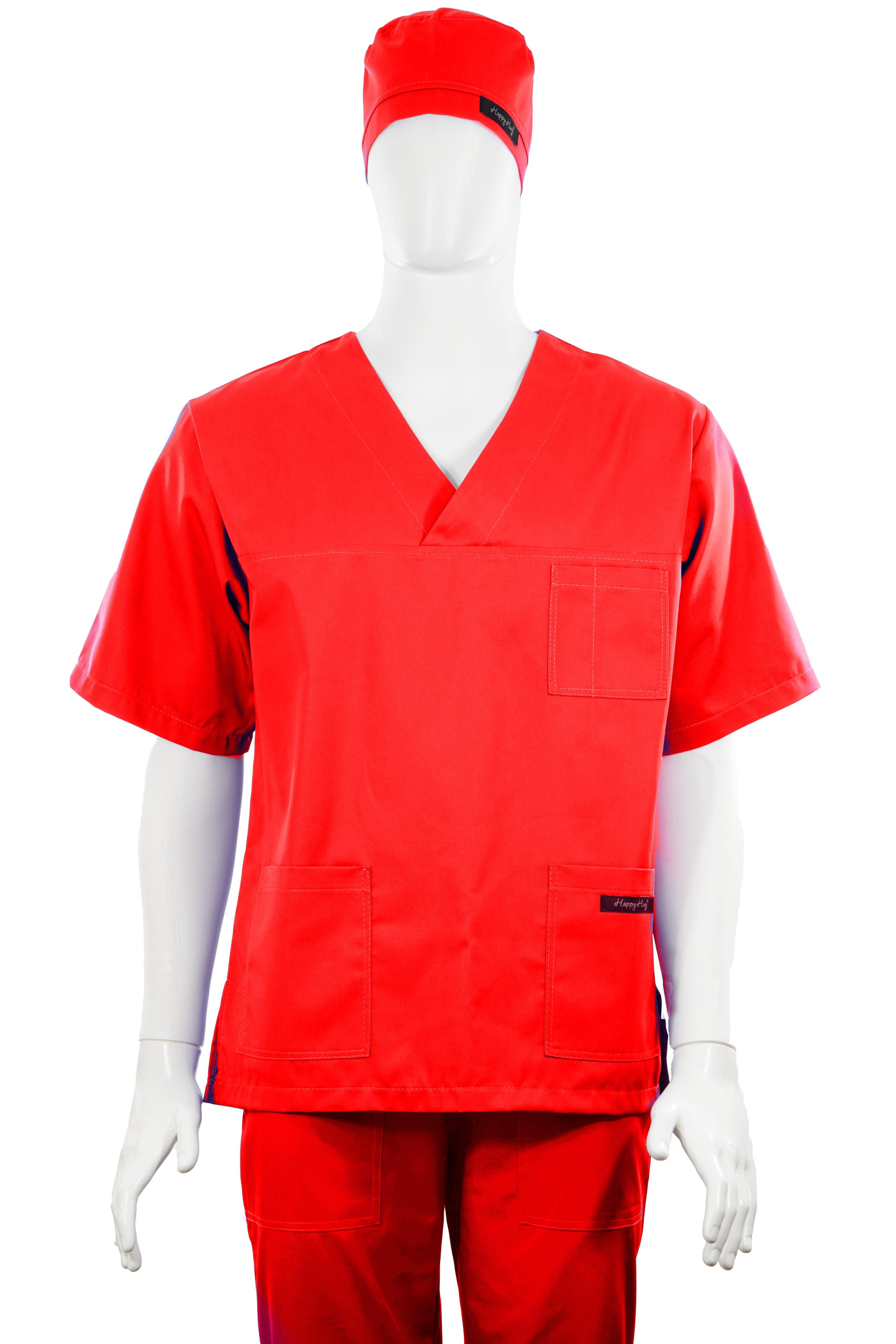 Costum Medical Unisex rosu 2XL 2XL 4