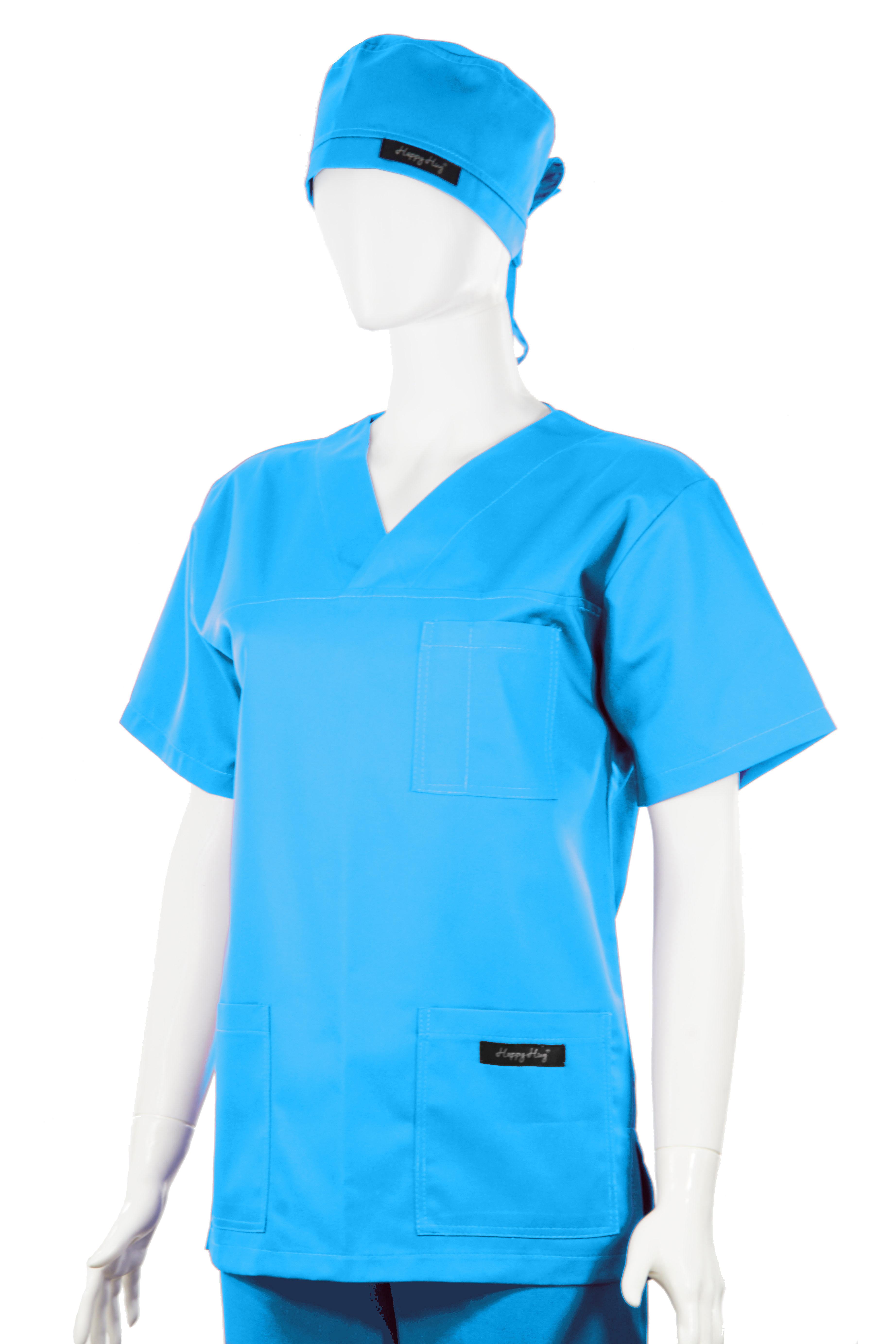 Costum Medical Unisex turcoaz 2