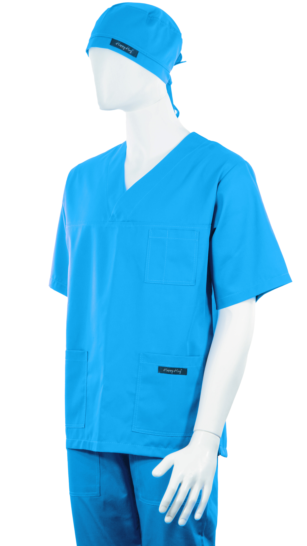 Costum Medical Unisex turcoaz 3