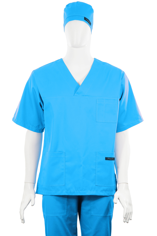 Costum Medical Unisex turcoaz 4
