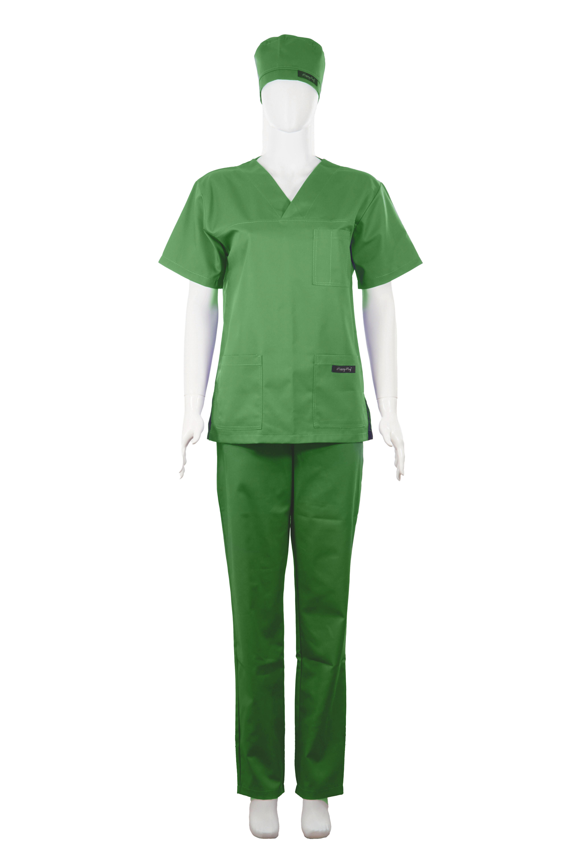Costum Medical Unisex verde [1]