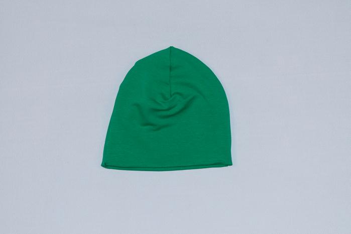 Caciulita Bumbac Simpla Verde 0