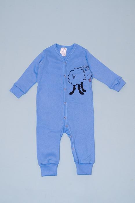 Pijama salopetă albastra - Oita 0