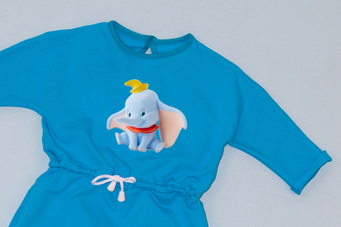Rochie cu șnur în talie albastră - Elefant Cochet [1]