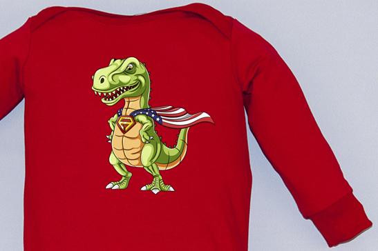 Salopeta Overall Super Dino [2]
