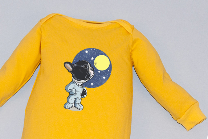 Salopeta Overall Moon Dog 2