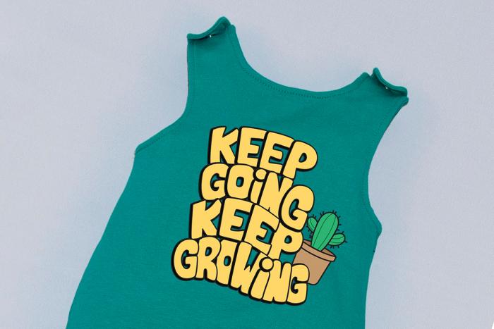 Salopeta Verde capse pe umar Keep Going [1]