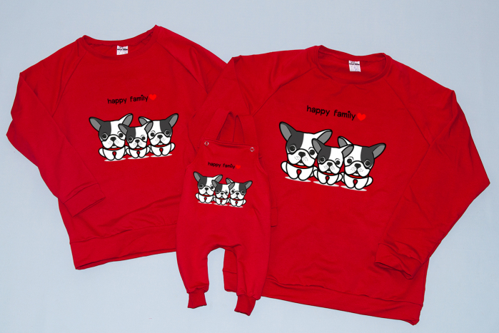 Set Bluze Bulldogs Family 0