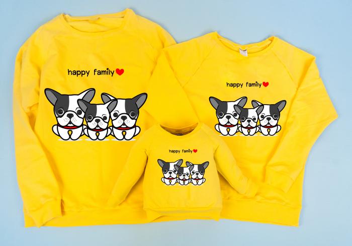 Set Bluze Bulldogs Family 1