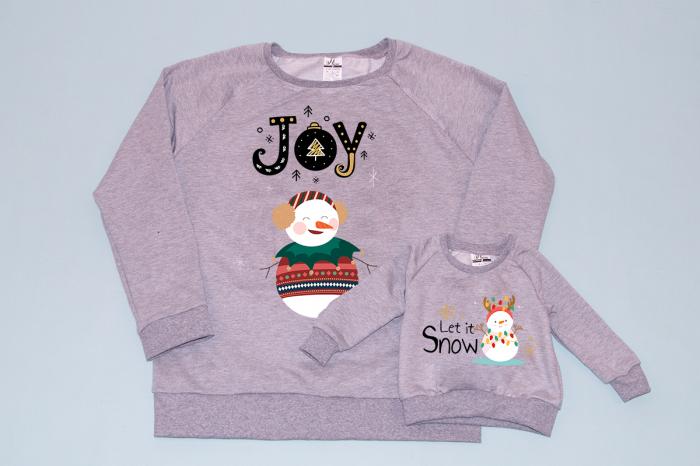 Set bluze joy snowman 0