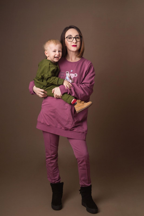 Set Bluze Oversize Mama/Fiu [2]