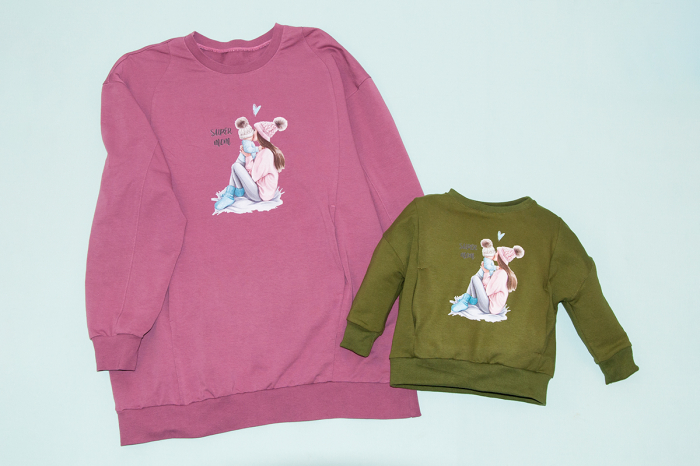 Set Bluze Oversize Mama/Fiu 0
