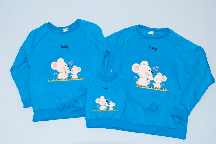 Set Bluze Mice Family 0
