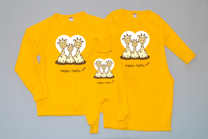 Set Happy Family - Giraffes 0