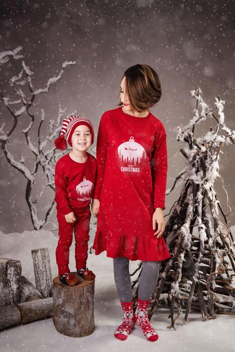 Set Mama Copil Merry Christmas [0]