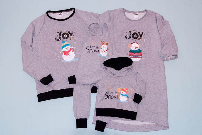Set SnowmanJoy Family 1