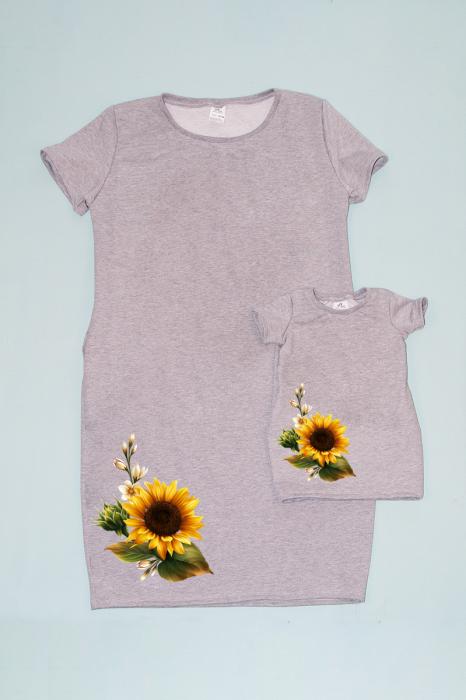 Set Rochite Cocoon Floarea Soarelui Gri [0]