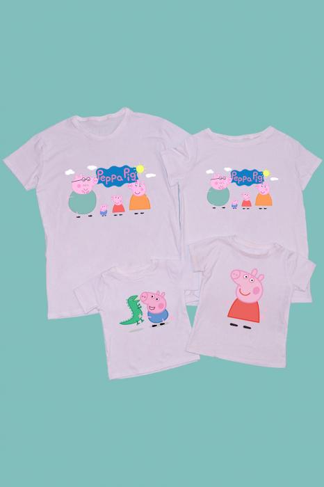 Set Tricouri familie Peppa Pig [0]