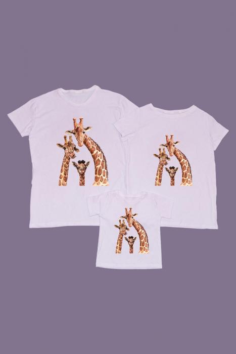 Set Tricouri Familie Girafe [0]