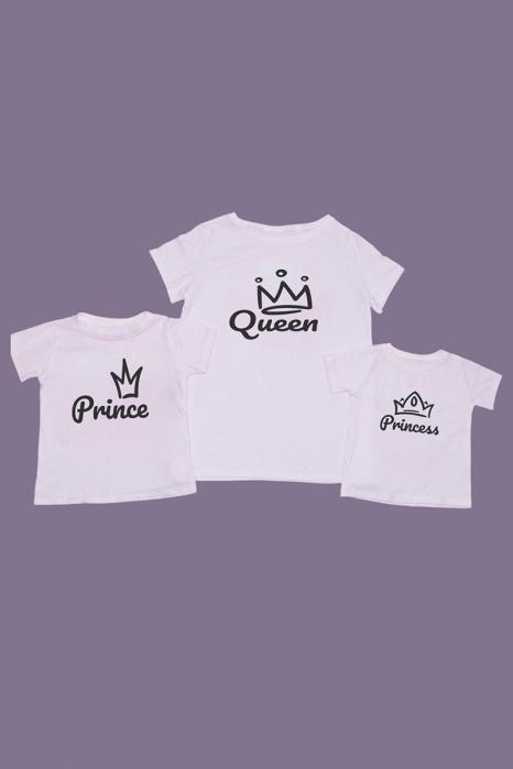 Set Tricouri mama - 2 copii Royal [0]