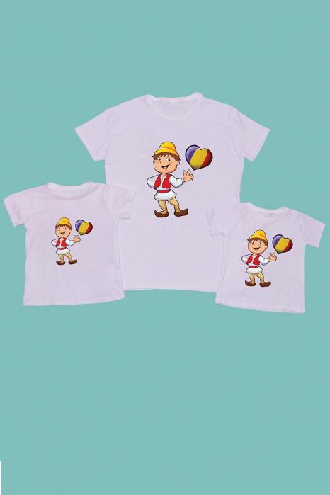 Set Tricouri Tata - 2 copii Romanas [0]