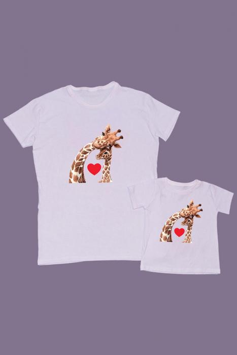 Set Tricouri Tata - Copil Girafe [0]