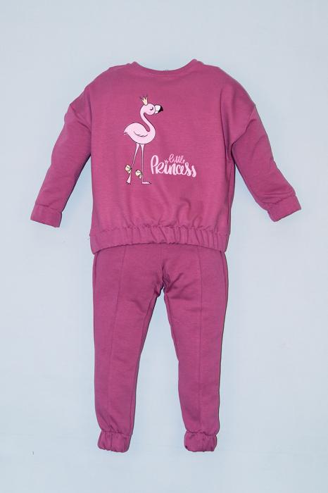 Trening Bumbac Bluza Oversize - Pink Flamingo 0