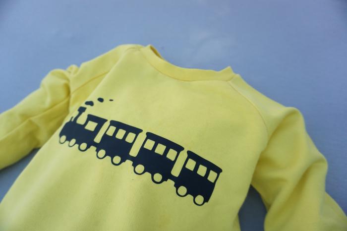 Bluza Ranglan Trenulet 1