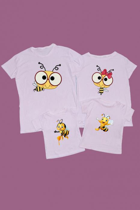 Set tricouri familie Albinute [0]