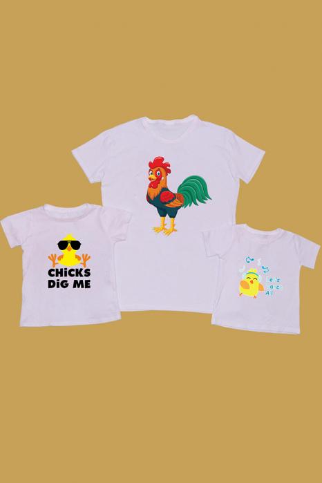 Set Tricouri Tata - 2 copii Cocos [0]