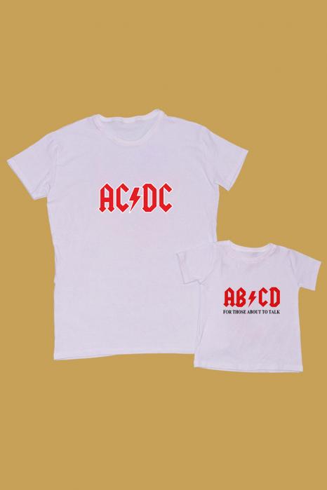Set Tricouri Tata - Copil AC/DC [0]