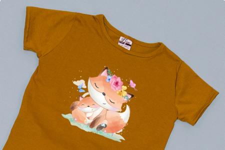 Compleu Tricou cu Pantalon Baggy Roz Pisicute1