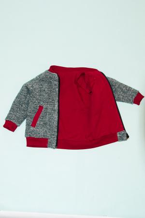 Jacheta lana - Gri Bucle2