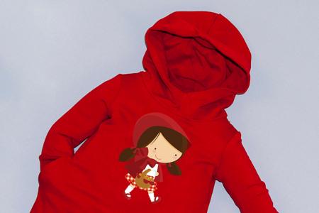Rochie roșie cu glugă - Scufita Rosie1