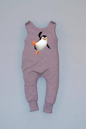 Salopeta Gri capse pe umar Pinguin [0]