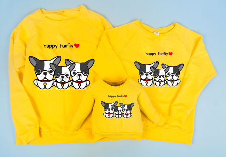 Set Bluze Bulldogs Family1