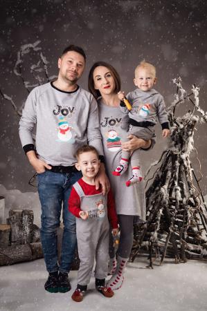Set Snowman Joy Family0