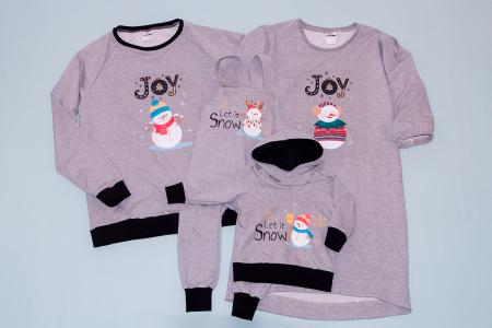 Set Snowman Joy Family1