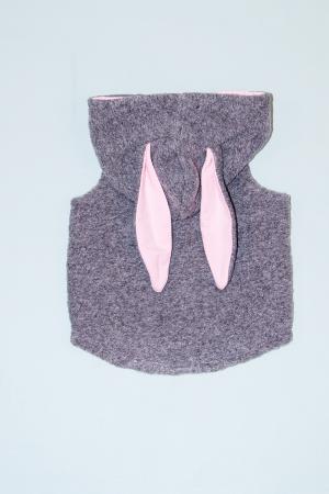 Vesta din lana fiarta - Light Grey - Iepuras [1]
