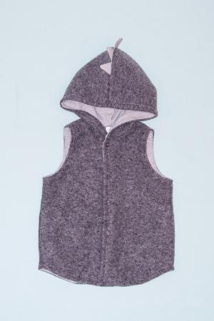 Vesta din lana fiarta - Light Grey - Dino [0]