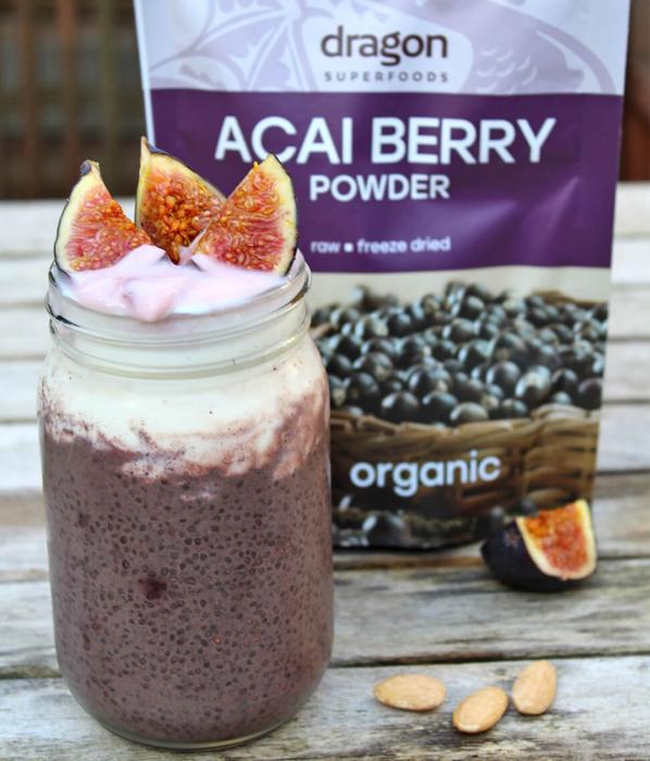 Acai Berry, pulbere raw bio, 75g [0]