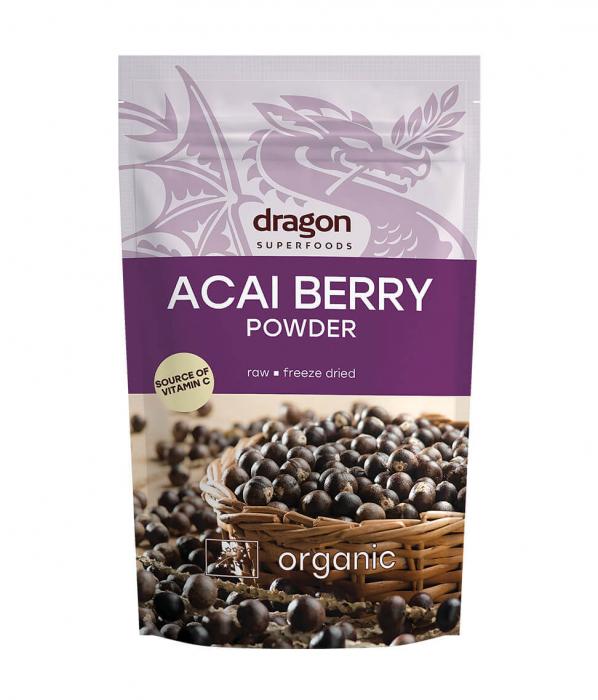 Acai Berry, pulbere raw bio, 75g [1]