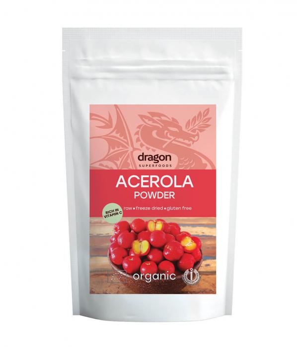 Acerola, pulbere raw bio, 75g [1]