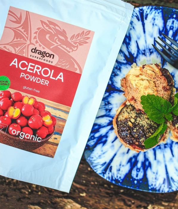 Acerola, pulbere raw bio, 75g [0]