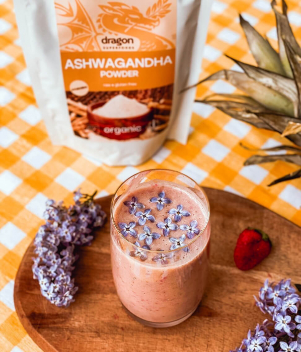 Ashwagandha, pulbere raw bio, 200g [0]