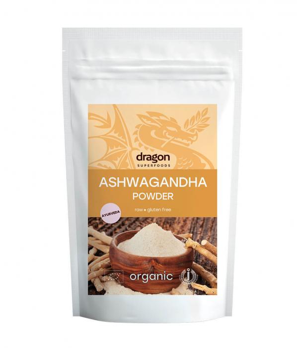 Ashwagandha, pulbere raw bio, 200g [1]