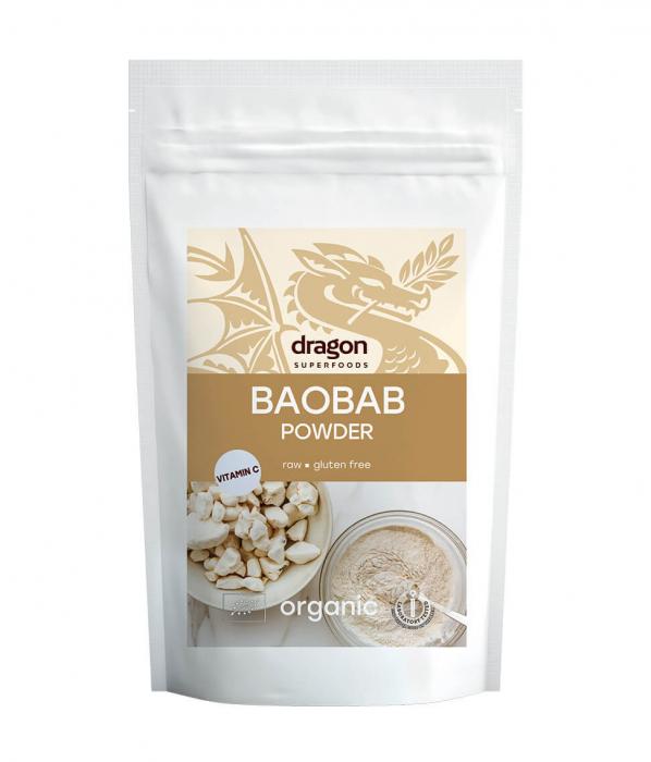 Baobab, pulbere raw bio, 100 gr [0]