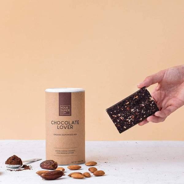 Baton Proteic Chocolate Lover - YourSuperFoods [1]