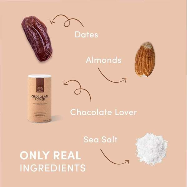 Baton Proteic Chocolate Lover - YourSuperFoods [2]