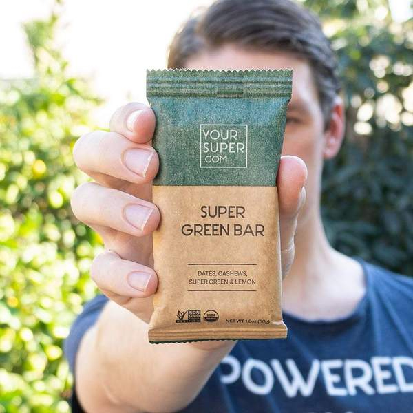 Baton Proteic Super Green - YourSuperFoods [1]
